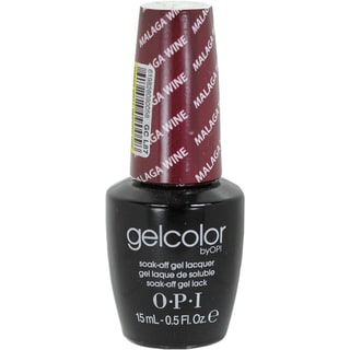 OPI GelColor Malaga Wine Soak-Off Gel Lacquer