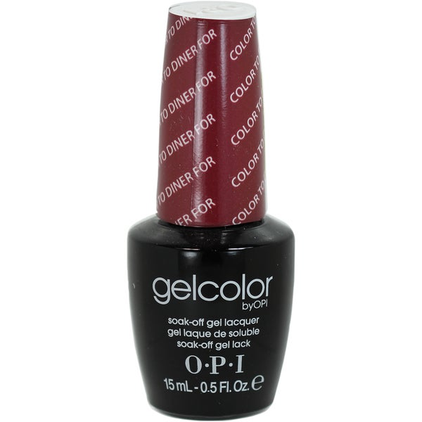 Opi Color To Diner For OPI Gelcolor Color To ...