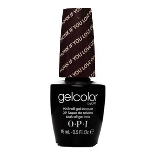 OPI GelColor Honk If You Love OPI Soak-Off Gel Lacquer