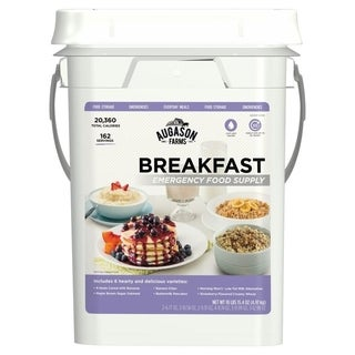 Emergency Food Supply Breakfast Pail (4 Gallons)