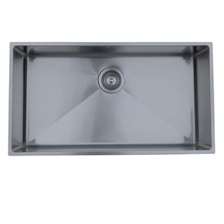 Ukinox Micro Series Soft Satin Stainless Steel Undermount Sink