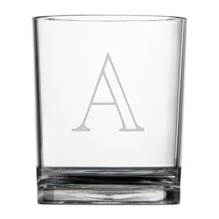 Personalized Acrylic Double Rocks Glasses (Set of 4)