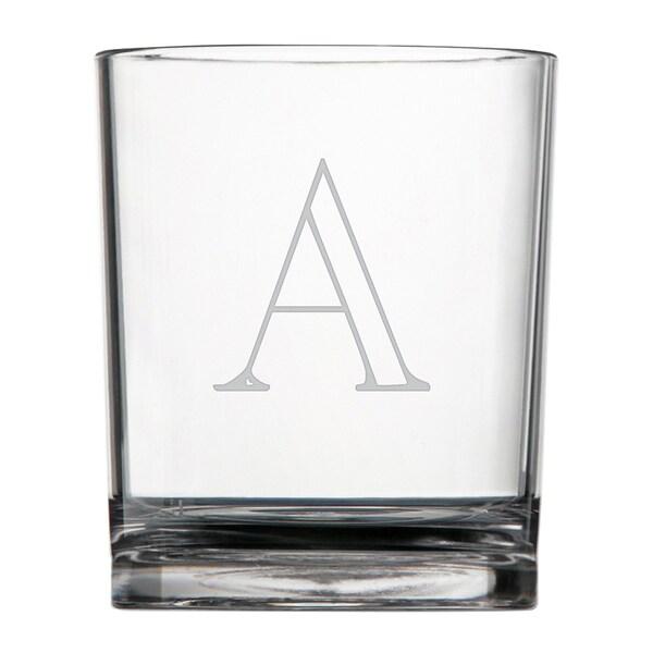 Personalized Acrylic Double Rocks Glasses (Set of 4)