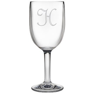 Personalized Acrylic Wine Glasses (Set of 4)
