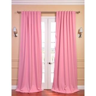 Precious Pink Blackout Thermal Curtain Panel Pair