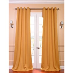 Marigold Grommet Blackout Thermal Curtain Panel Pair
