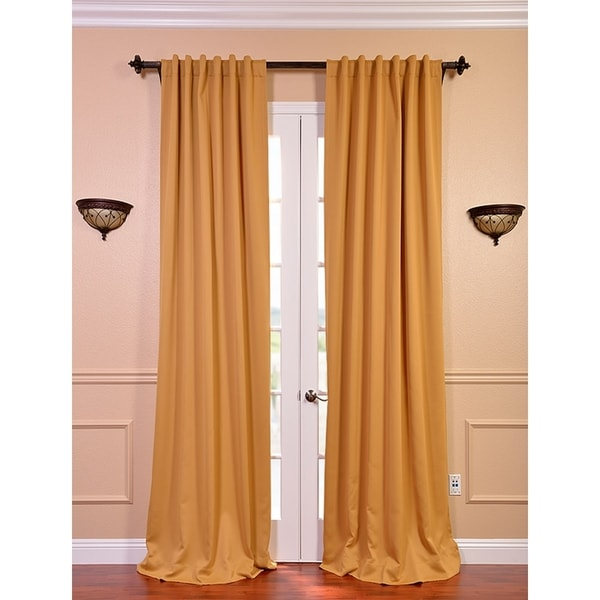 Marigold Blackout Curtain Thermal Panel Pair - Overstock Shopping ...