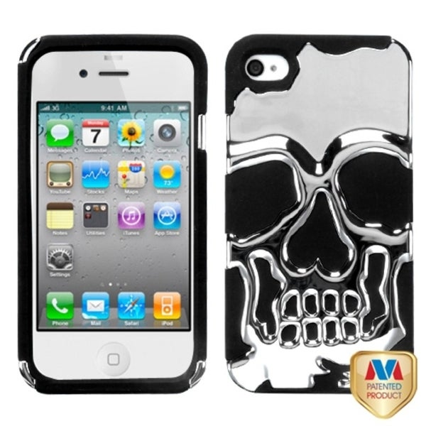 INSTEN Hybrid Phone Case Cover for Apple iPhone 4S/ 4