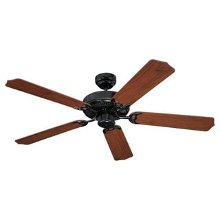 'Quality Max' 52-inch Vintage Brown Ceiling Fan