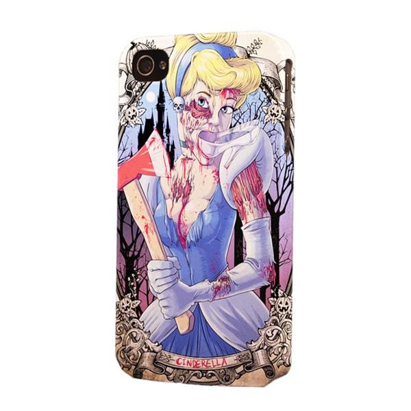 Plastic Snow White Zombie Dimensional Apple iPhone Case
