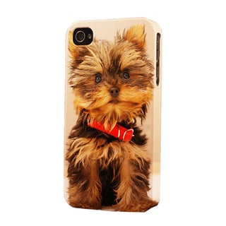 Plastic Yorkie Dimensional Apple iPhone Case
