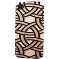 Plastic Brown Pipes Dimensional Apple iPhone Case