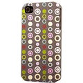 Plastic Circles Dimensional Apple iPhone Case