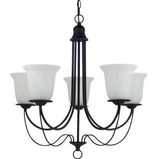 'Plymouth' Blacksmith 5-Light Single Tier Chandelier
