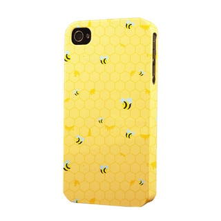 Plastic Honey Bees Dimensional Apple iPhone Case
