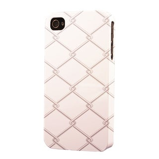 Plastic Chain Link Fence Dimensional Apple iPhone Case