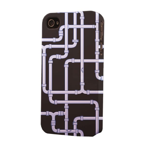 Water Pipes Dimensional Apple iPhone Plastic Case