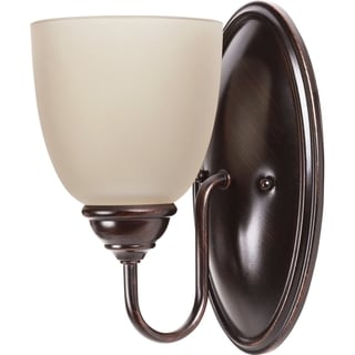 Sea Gull Lighting Lemont 1-light Burnt Sienna Wall Sconce