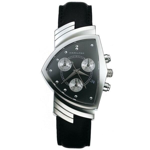 Hamilton Men's 'Ventura' Black Dial Watch