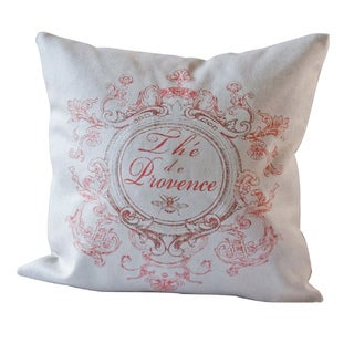 The Provence 20-Inch Square Decorative Pillow Cover