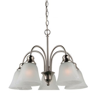 Windgate 5-Light Single Tier Brushed Nickel Chandelier
