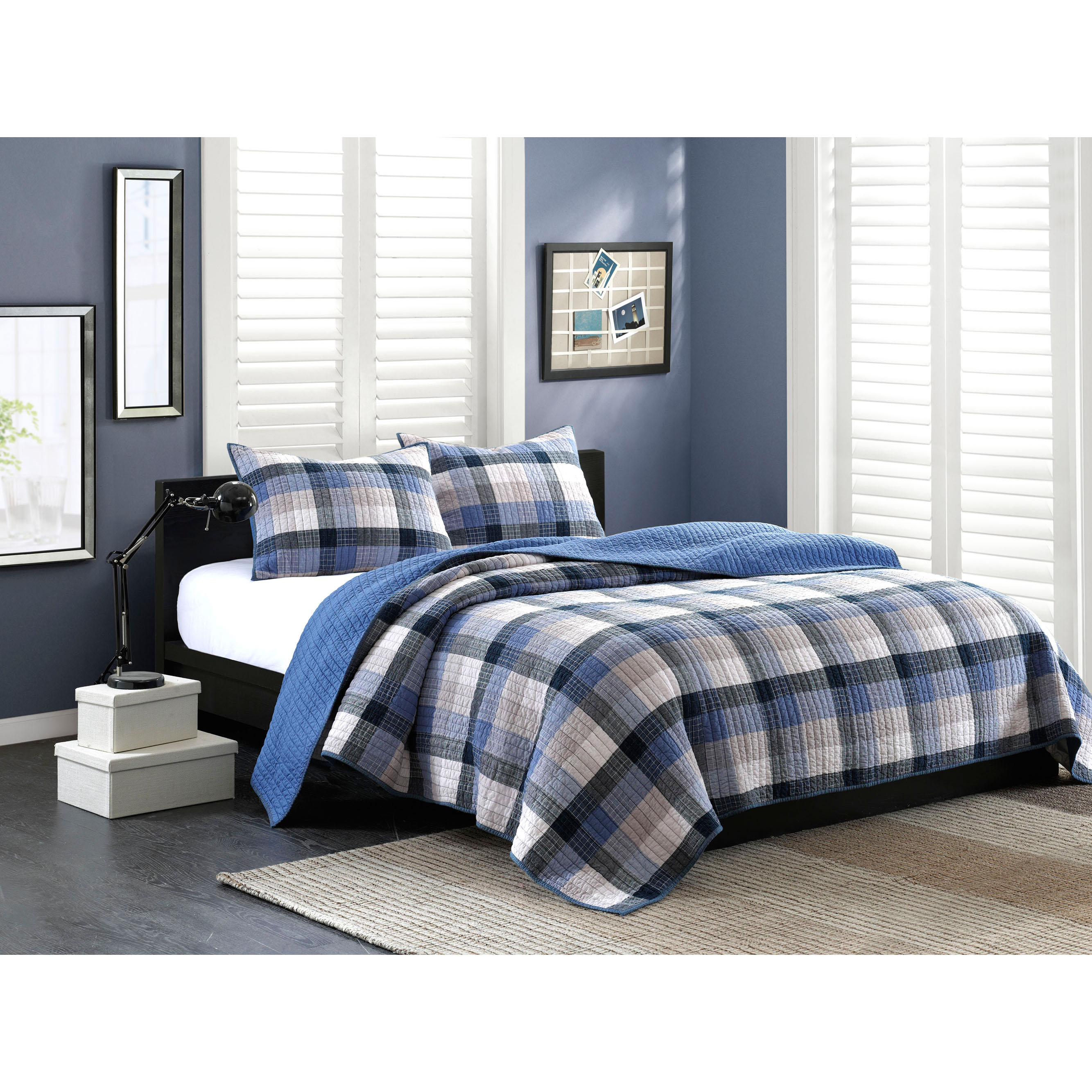 Ink and Ivy INK+IVY Maddox 3-piece Quilt Set