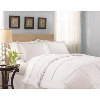 Lightweight White Sateen Down Alternative Comforter
