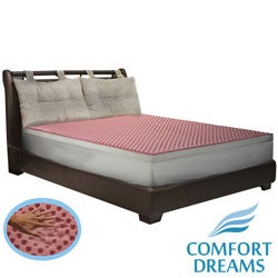 Comfort Dreams Lifestyle Collection Performance 3-inch Memory Foam Topper