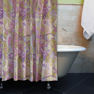 Portia Paisley Shower Curtain