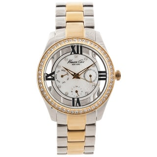 Kenneth Cole New York Women's Two-tone Crystal Accented Watch