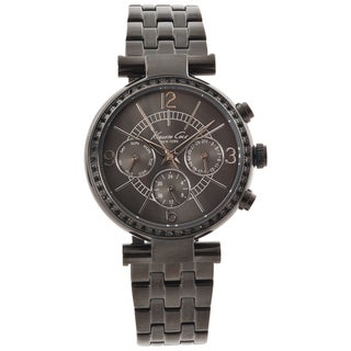 Kenneth Cole New York Women's Gunmetal Multifunction Watch