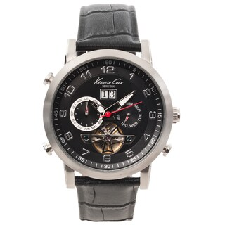 Kenneth Cole New York Men's Black Dial Multifunction Automatic Watch