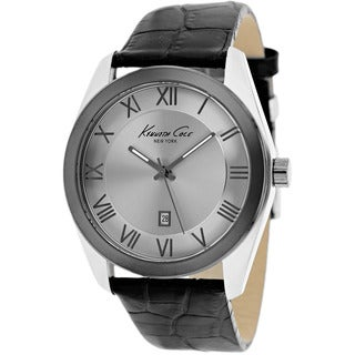Kenneth Cole Men's KC1925 Classic Black Leather Watch