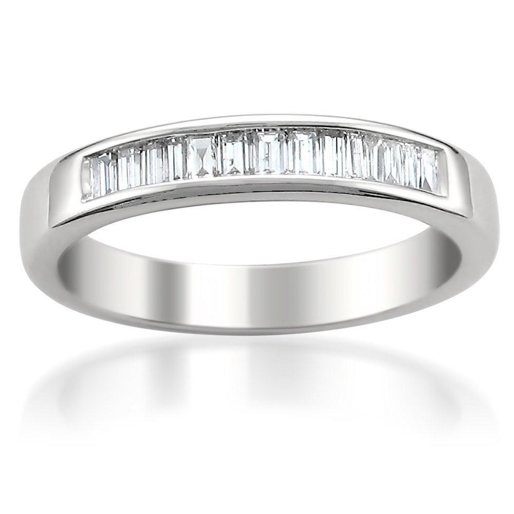 14k White Gold 1/2ct TDW Diamond Wedding Band (G-H, VS1-VS2) at Sears.com