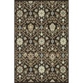 Indoor Outdoor Hudson Chocolate/ Ivory Rug (5'2 x 7'5)