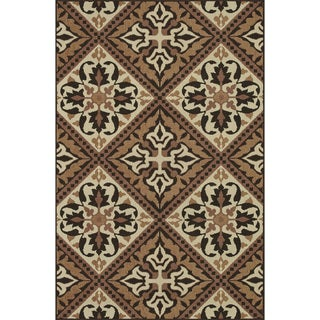 Indoor Outdoor Hudson Copper Rug (5'2 x 7'5)