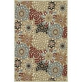 Indoor Outdoor Hudson Floral Rug (7'10 x 10'9)