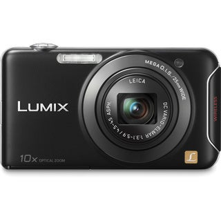 Panasonic Lumix DMC-SZ5 14.1MP Black Digital Camera