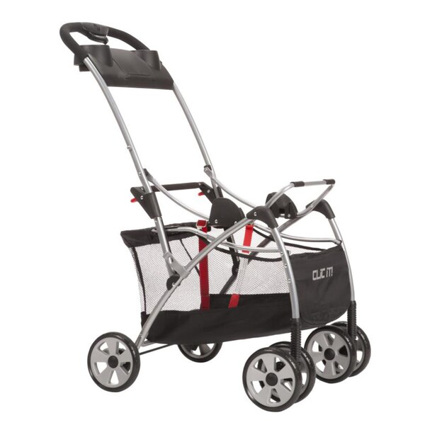 Safety 1st Clic It! Stroller in Black on Silver