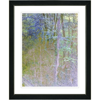 Studio Works Modern 'Summer Forest - Noon' Framed Art Print