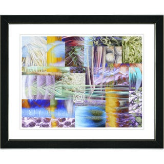 Studio Works Modern 'Veggie Mix - III' Framed Art Print