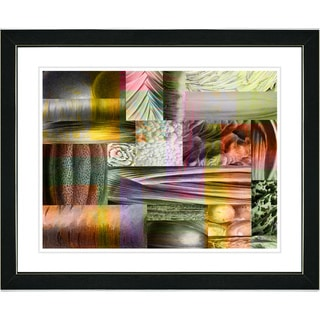 Studio Works Modern 'Veggie Mix - II' Framed Art Print