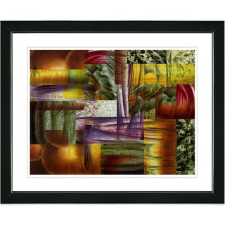 Studio Works Modern 'Veggie Mix - IV' Framed Art Print