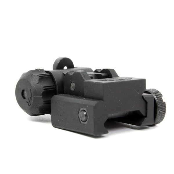 ProMag AR15 Flip Up A2 Dual Aperture Rear Sight Black Polymer