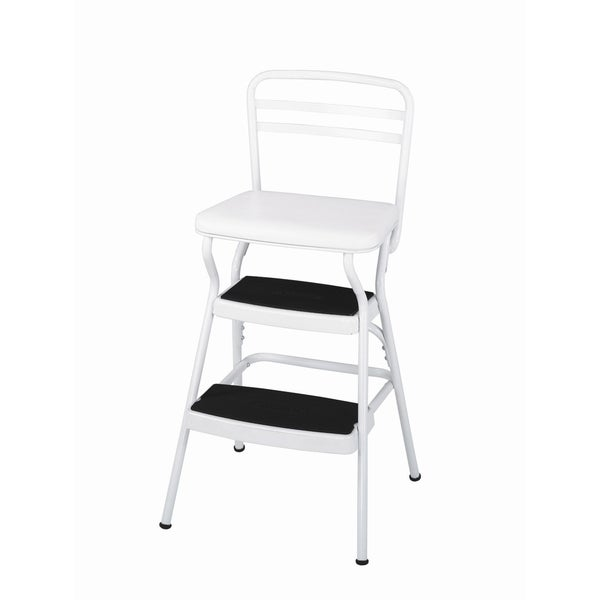 Cosco Retro Counter Lift Up Chair Step Stool 15388205