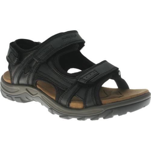 Men's Spring Step Domain Black Leather