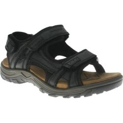 Men's Spring Step Domain Black Leather