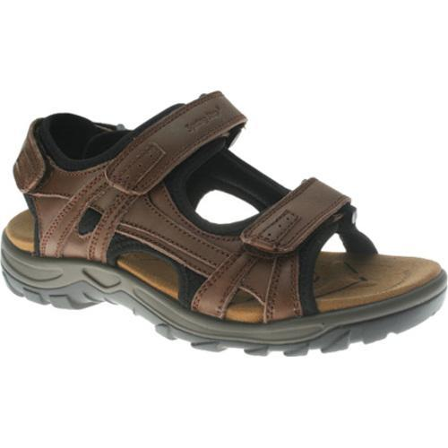 Men's Spring Step Domain Brown Leather
