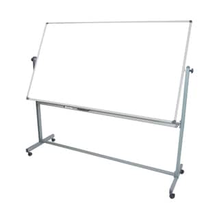 Offex Wholesale White Double Sided Adjustable Magnetic Whiteboard Easel