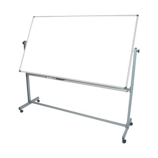 Office Accents Mobile 72x40 Reversible Magnetic Whiteboard